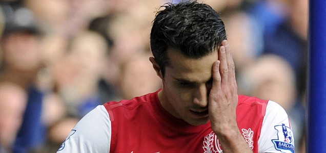 Arsenal's Robin van Persie