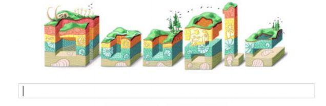 Google Doodle, Search Engines, Geology, FOSSIL, Copenhagen