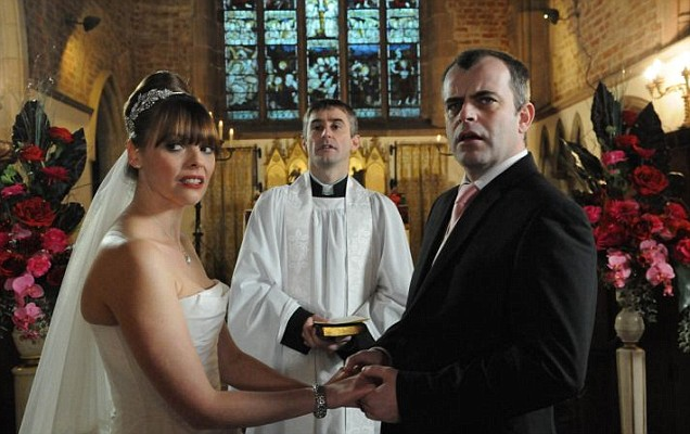 Coronation Street Tracy Barlow Steve McDonald wedding