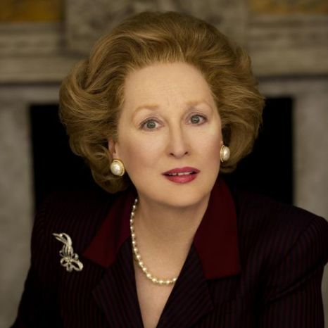 Meryl Streep, Margaret Thatcher, The Iron Lady, Oscars 2012