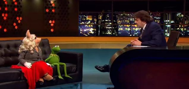 Kermit and Miss Piggy THE Jonathan Ross Show