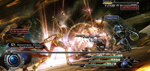 Final Fantasy XIII-2 (PS3) - battle across time