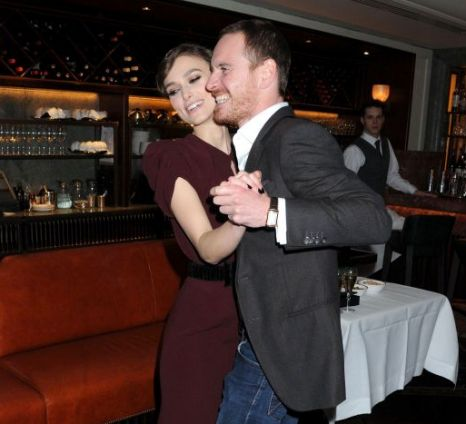 Michael Fassbender, Keira Knightley, Dangerous Method premiere