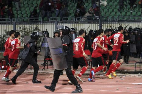 Al-Masrys Port Said Stadium, football riot