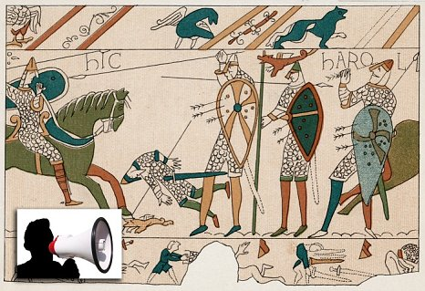 The Battle of Hastings: Long overdue a modern day spin? (Picture: Alamy)