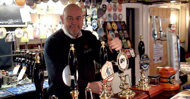 Peter McGivern, Bridge End Inn, pub of the year