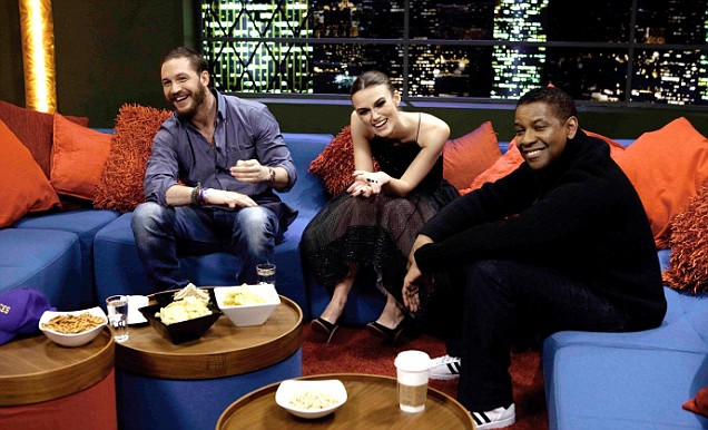 The Jonathan Ross Show Tom Hardy Keira Knightley Denzel Washington