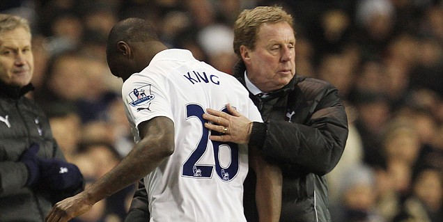 Ledley King, Harry Redknapp, Spurs