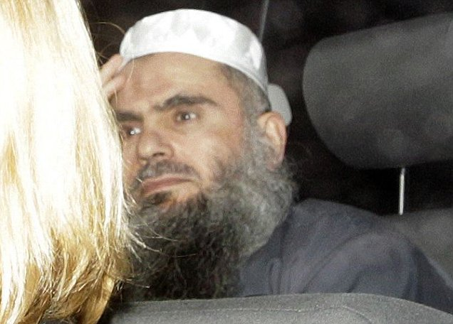 Abu Qatada, described as Osama bin Laden's right-hand man in Europe