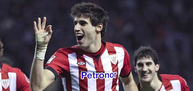 Athletic Bilbao's defender Javi Martinez
