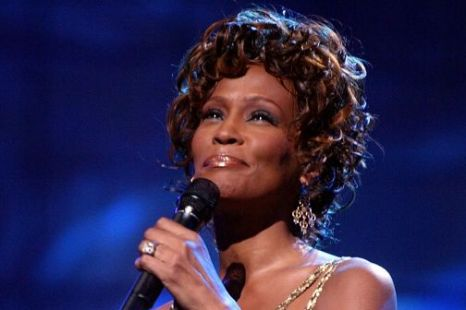 2004: Whitney Houston is seen performing on stage during the 2004 World Music Awards at the Thomas and Mack Center