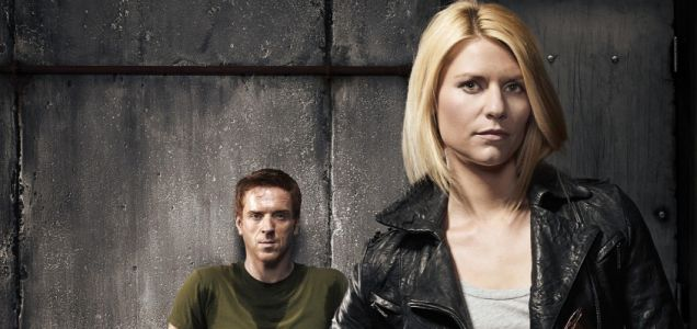 Damian Lewis and Claire Danes Homeland