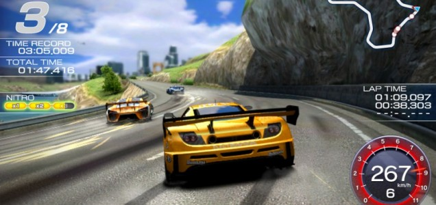 Ridge Racer (PSV) - stuck in first gear