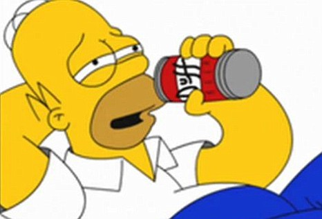 Homer Simpson, Duff beer