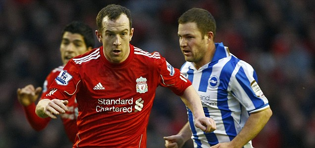 Liverpool's Charlie Adam