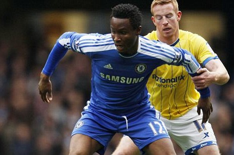 Chelsea's John Obi Mikel 