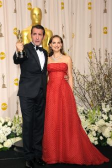 Jean Dujardin, Natalie Portman, Oscars 2012