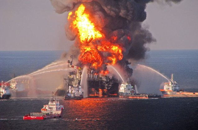 Deepwater Horizon oil platform BP Gulf of Mexico