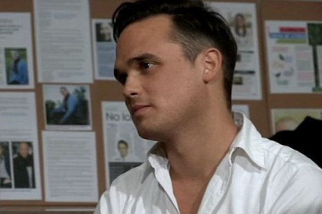 Gareth Gates was a man inspired to teach in Stop My Stutter (Picture: BBC)
