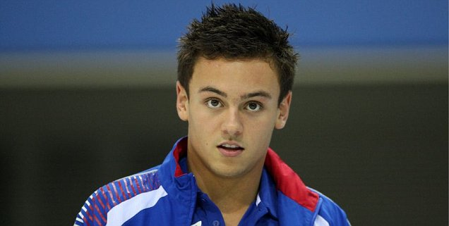 London 2012 Olympics Diving Tom Daley