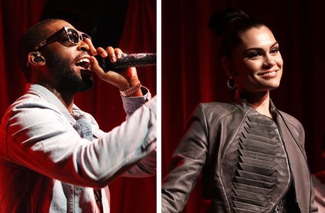 Jessie J is rumoured to be dating Tinie Tempah.