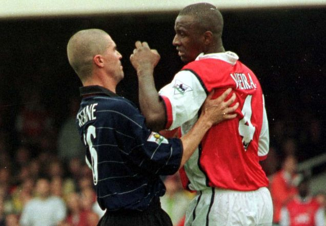 Keane and Vieira