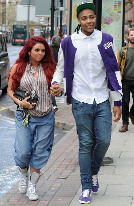 Little Mix's Jesy Nelson and her boyfriend Jordan Banjo