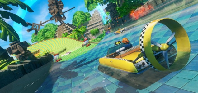 Sonic &amp; All-Stars Racing Transformed - very Crazy Taxi