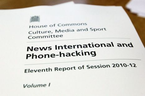 phone hacking, committee, report