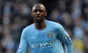 Patrick Vieira, now working behind the scenes at Man City, is backing Steve Bould for the Arsenal job (PA)