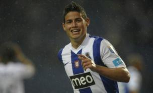 James Rodriguez is a Manchester United transfer target (AFP/Getty Images) 