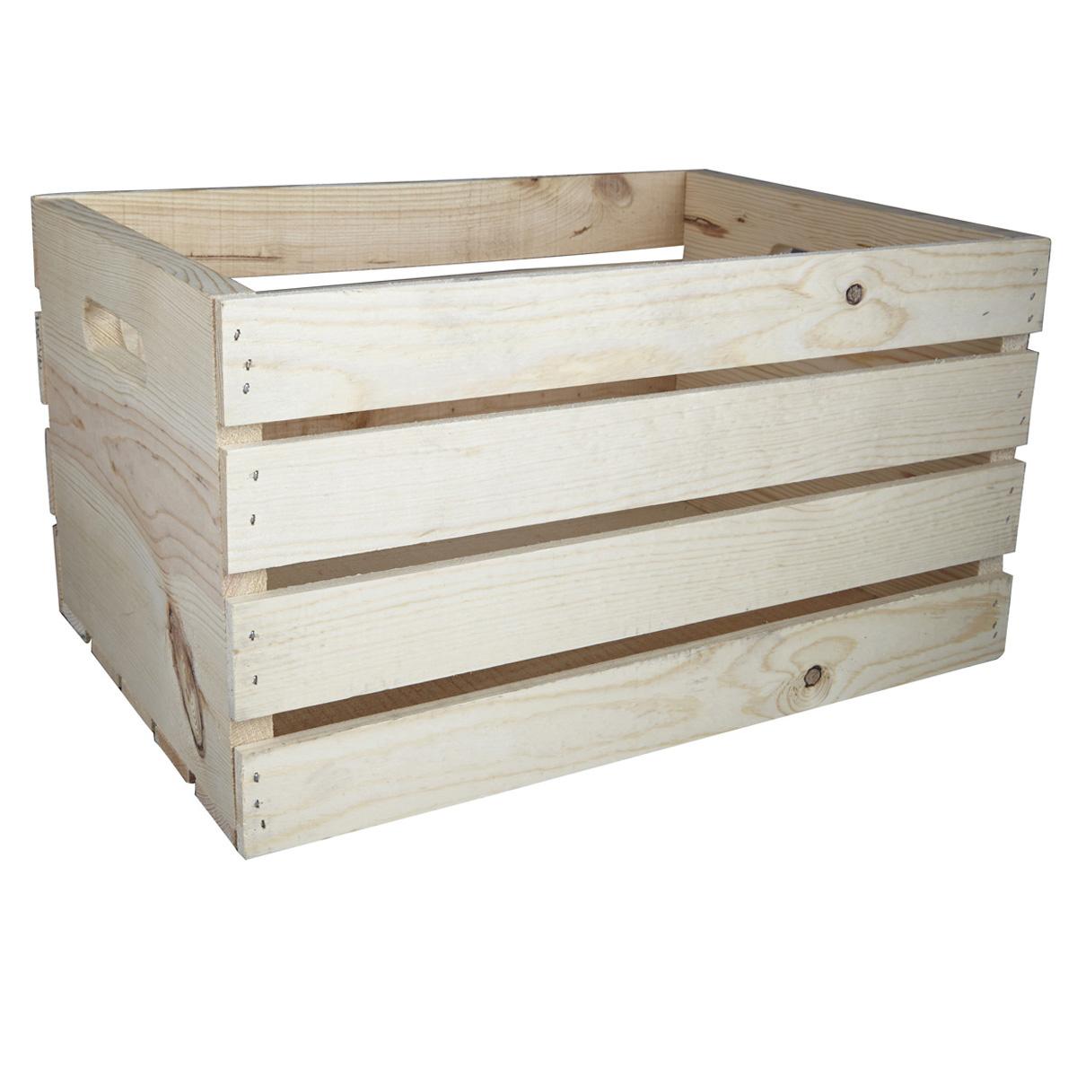 Artmindsr Wood Crate Carry All