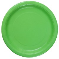 Celebrate It Solid Color Paper Plates, 9""