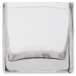Howling Square Glass Vase By Ashland Buy Square Glass Vase By At Michaels Square Glass Vases 5 Square Glass Vases 7x7