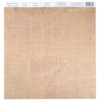 Buy the Photo Burlap Scrapbook Paper by Recollections at ...