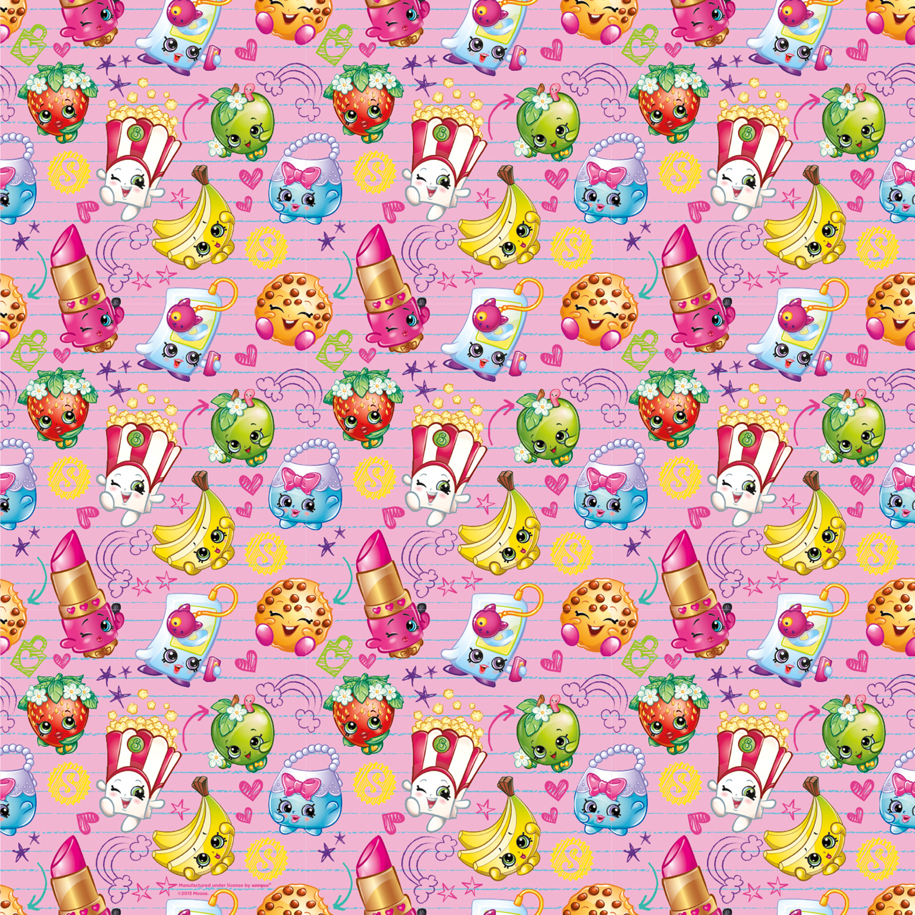 Tinkerbell Wallpaper For Iphone 6 Shopkins Wrapping Paper Roll Shopkins Gift Wrap