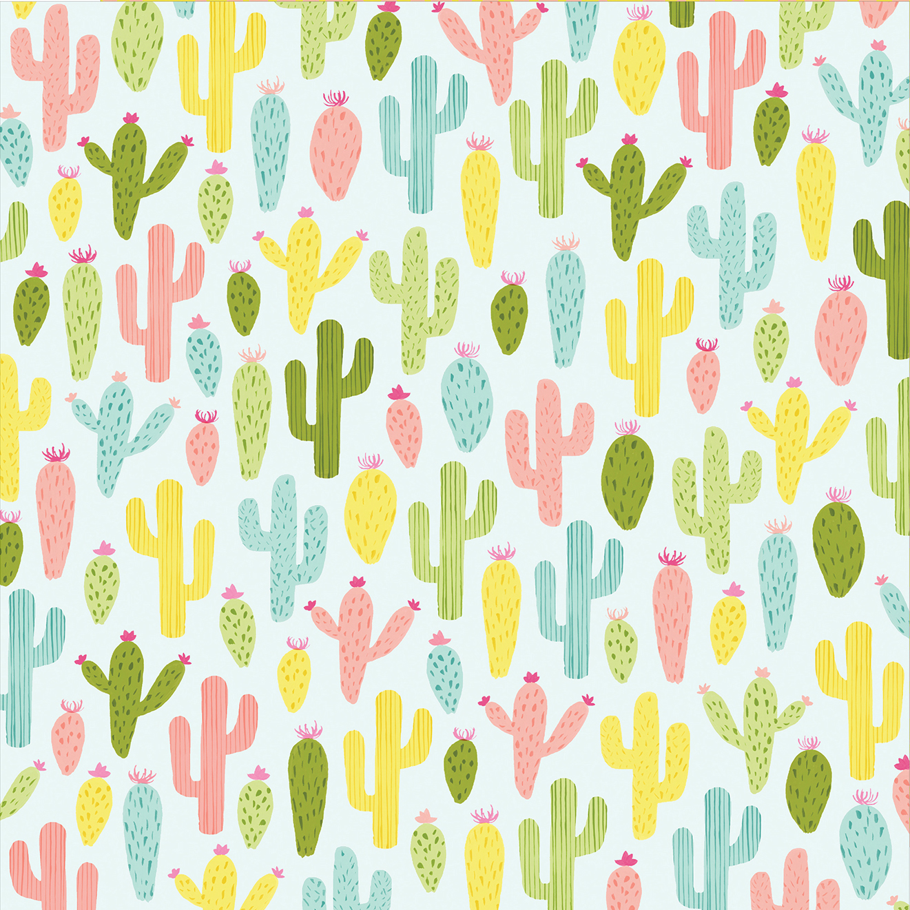 Buy the Multicolored Cactus Paper By Recollections at