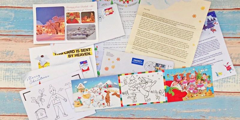 寫信給聖誕老公公吧!!2108各國聖誕老公公地址。TSUM TSUM聖誕降臨曆一起倒數吧