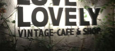 【美食】台北 - 無意間發現的可愛人氣小店Love Lovely 美好生活古董行