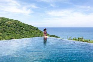 【越南Amanoi】Cliff Pool & Beach Club 公共泳池