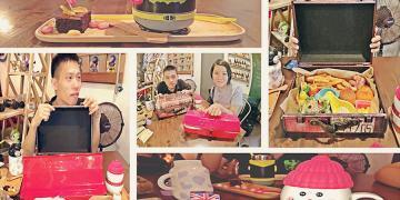 捷運松江南京站美食   TankQ RESTAURANT 手提箱主題餐廳 從器皿中找到用餐的樂趣