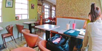 捷運士林站美食 看電車咖啡館 士林夜市下午茶 喝酒小酌 免費Wi-Fi上網 插座 用餐無限時
