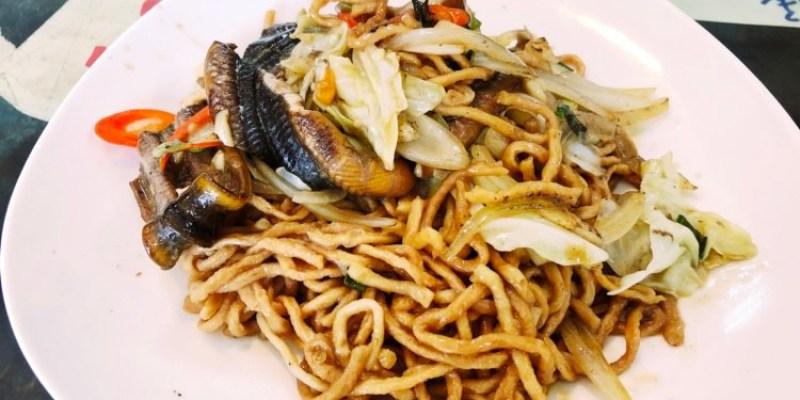 台中西區美食 阿錦鱔魚意麵 沒空去台南吃美味的鱔魚麵沒關係 這邊也有超好吃的乾炒鱔魚意麵喲 文化街美食