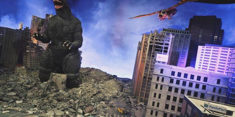 怪獸之王 哥吉拉特展 2018.06.30~2018.09.16 松山文創園區1號倉庫 Godzilla Special Exhibition