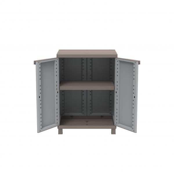 Outdoorschrank Terry - 1002815 - Crattan 680 - Outdoorschrank 68x39x91,5 ...
