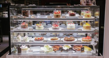 台北東區蛋糕推薦|好久沒吃過這麼好吃的蛋糕了♥「法國的秘密甜點 大安門市」新品鹽之花焦糖巧克力蛋糕.卡斯特洛藍起士蛋糕@捷運忠孝復興站