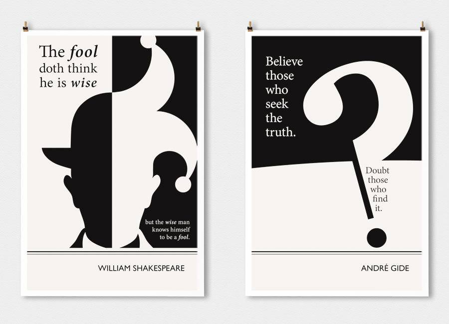 14张文学海报设计
