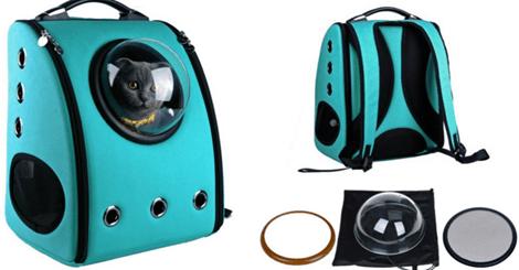 超可爱太空窗宠物包包