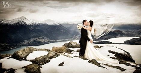 每個女孩心裡的夢想,但妳有想過在雪地裡拍婚紗照有多美嗎?
