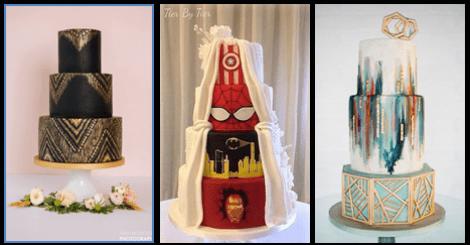 每個女孩心中都有個夢幻婚禮,婚禮必備的超酷蛋糕讓人捨不得切下!